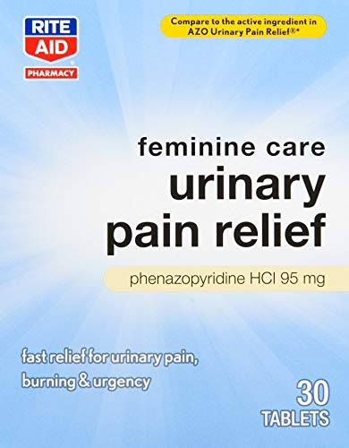 Rite Aid Urinary Pain Relief - 30 Tablets   UTI Relief for Women