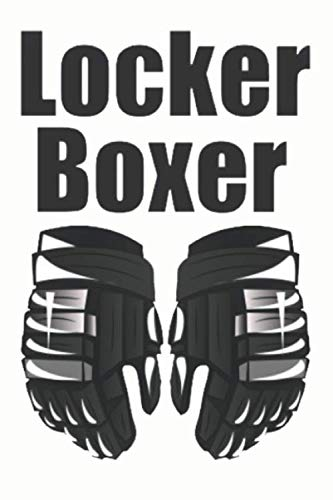 Locker Boxer: Mens Locker Boxer Lined Notebook / Journal / Diary Gift , 110 blank Pages , 6x9 inches , Matte Finish Cover