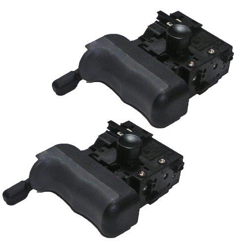 Ridgid R5011/R5013 1/2' Martillo taladro (2 unidades) interruptor de repuesto # 760406003-2pk