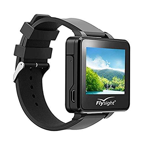 Yiwa FPV Uhr,Flysight FPV Watch Wireless Receiver 5,8 GHz 32-Kanal-HD-Monitor 960 x 240 Echtzeit