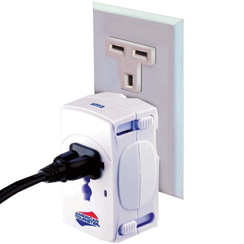Travel Accessories American Tourister WoldWide Adaptor Plug White