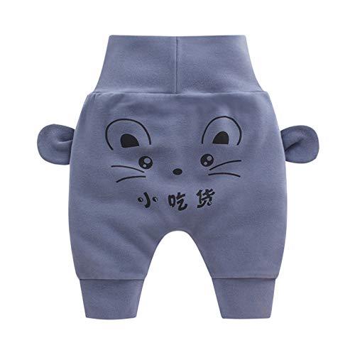 Hhckhxww Pantalones De Bebé Primavera Y OtoñO Nuevos NiñOs Y NiñAs Pantalones Grandes De PP Pantalones De Cintura Alta para BebéS Pantalones Casuales para NiñOs