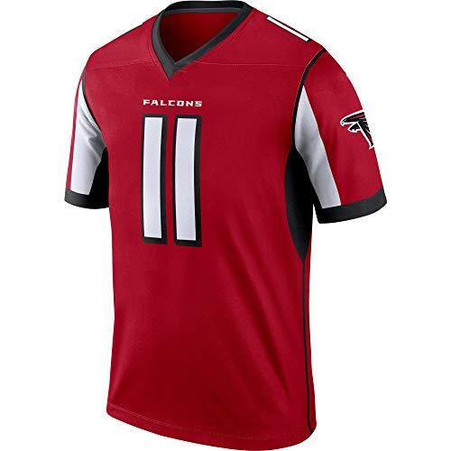 Basketball Trikot FüR Herren Swingman Jersey Hemd Julio Jones Atlanta Falcons #11,S
