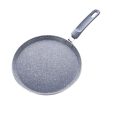 WPCBAA 28cm grote crepe Pan Coated Cake Pannenkoekenpan Crepe Maker platte pan grillplaat ontbijt omelet bakvormen