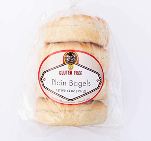 New Grains Gluten-Free Plain Bagels