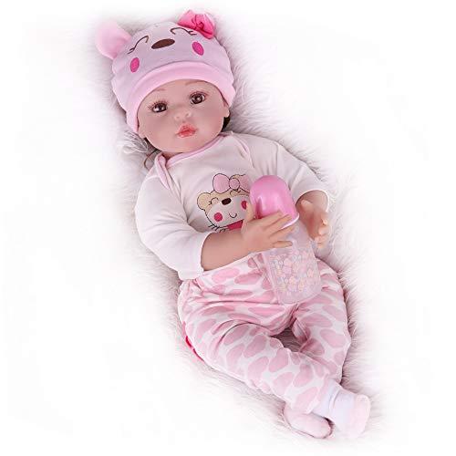 Kaydora Reborn Baby Dolls, Realistic Baby Reborn Dolls, 22inch Weighted Baby Lifelike Baby Dolls for Girl Age 3+