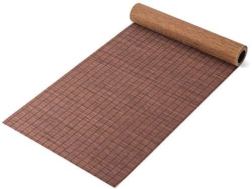 WYJW Tafelloper Bamboe Placemats Hittebestendige Thee Roll Tafelloper Chinese Klassieke Theetafel voor Veranda, Conferentie, Eettafel (Maat: 30x100cm)