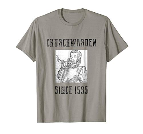 Churchwarden Pipes Tshirt For Pipe Smokers