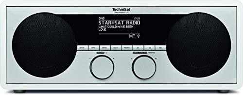 TechniSat DigitRadio 450 (DAB+, UKW, Internetradio, WLAN, UPnP-Client, Bluetooth), weiß