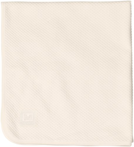 RED CASTLE - Couverture bébé fleur de coton 80 x 70 cm naturel