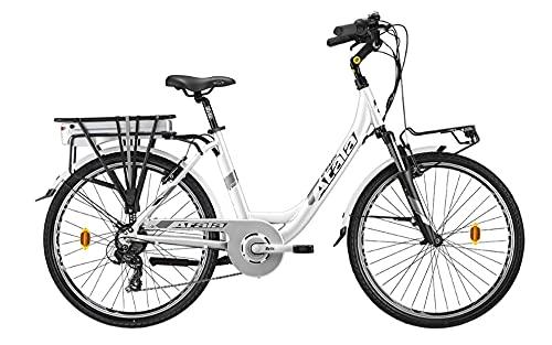 Modelo Atala 2021 - Bicicleta eléctrica de trekking con batería 360, talla...