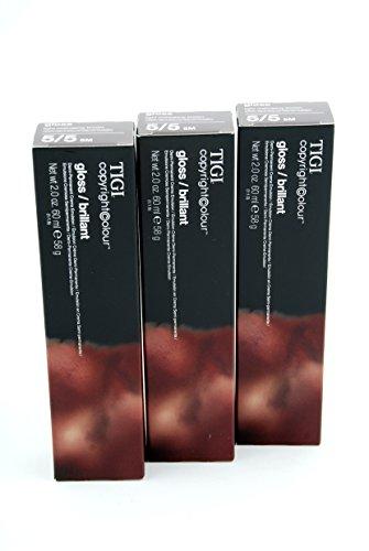 Tigi Lot de 3 flacons de gloss CC 5/5 (5M) 60 ml