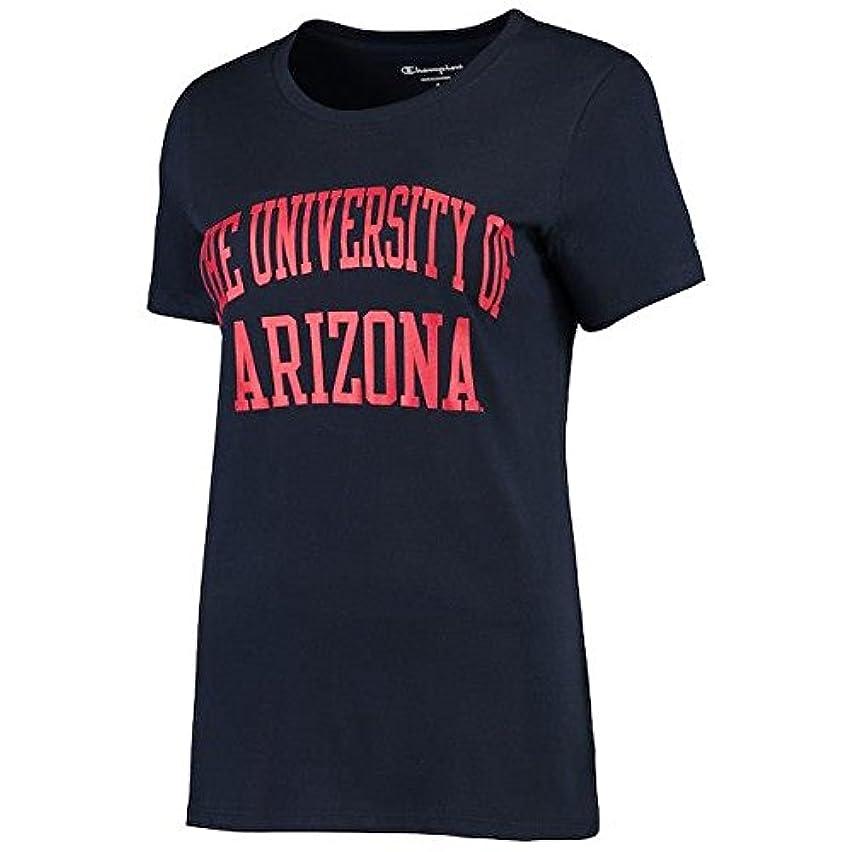 付録回復みChampion Champion Arizona Wildcats Women's Navy University T-Shirt スポーツ用品 【並行輸入品】