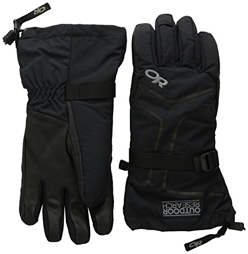 Outdoor Research Mens Highcamp Gloves Black Small