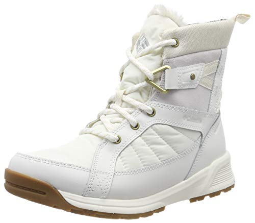 Columbia Damen Meadows Shorty Omni-heat 3d Schneestiefel, Elfenbein (Heat-Sea Salt, Rosew 125), 38 EU