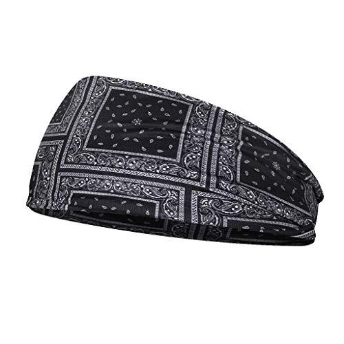 joyMerit Sport Stirnband Schweißbänder Kopfband Sportband für Männer oder Frauen - D