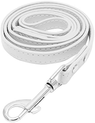 Anniston Dog Harness Pet Dog Collar Faux Leather Large Medium Size Terriers Leash Traction Rope product image