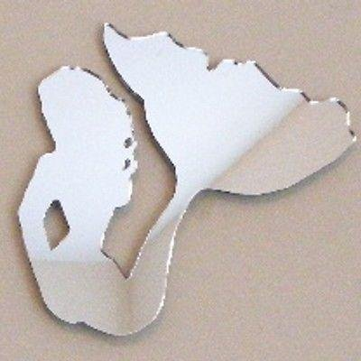 ServeWell Specchio da Parete–Sirena 12 x 11 cm