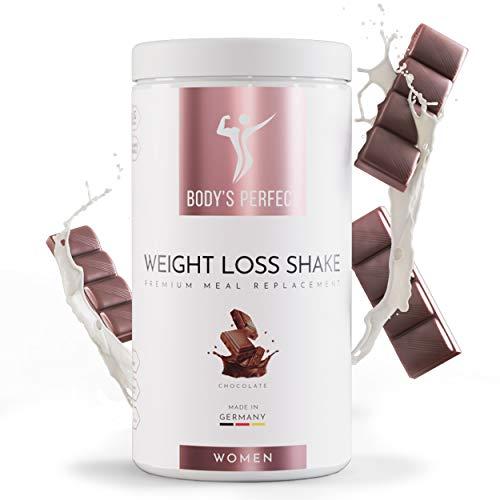 Body's Perfect - Weight Loss Shake für Frauen, Diät Shake mit hochwertigem Protein zum abnehmen, mit allen wichtigen Vitaminen und Mineralstoffen, 500g (Schokolade)