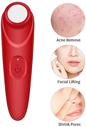 Productos de belleza Masajeador facial, blanquear de la piel y el acné libre de esterilización y de limpieza profunda Rf Ems dispositivo, mientras que promueve la regeneración de la piel, arrugas efic