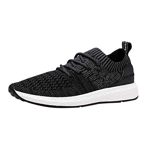 VENMO Herren Running Fitness Atmungsaktiv Sneakers Flache Knöchel-Turnschuhe Straßenlaufschuhe Laufschuhe Fitness Schuhe Kletterschuhe Outdoorschuhe Plateauschuhe