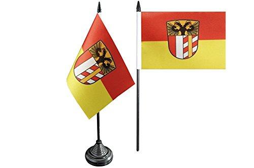 Flaggenfritze® Tischflagge Deutschland Schwaben - 10 x 15 cm