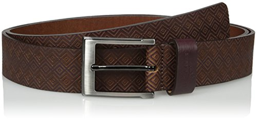 Ted Baker Men's Hylon Belt, Oxblood, 34