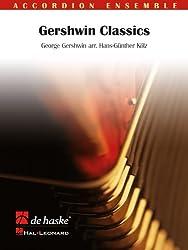 GERSHWIN CLASSICS ACCORDEON -PARTITION+PARTIES SEPAREES