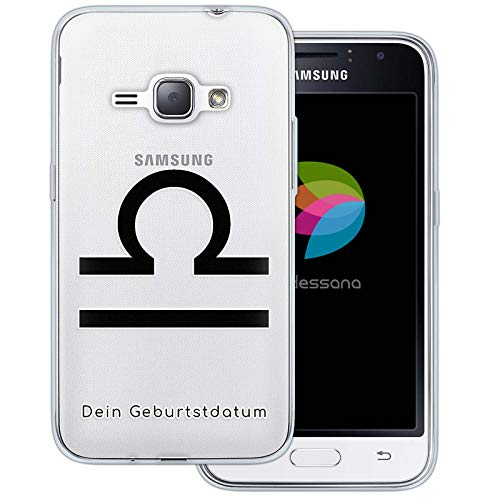 dessana sterrenbeeld met datum transparante silicone TPU beschermhoes 0,7 mm dunne mobiele telefoon soft case cover tas voor Samsung Galaxy A J