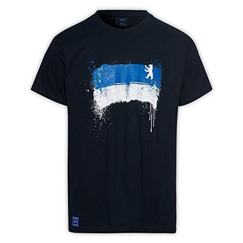 Hertha BSC T-Shirt Blau-Weiss (M)