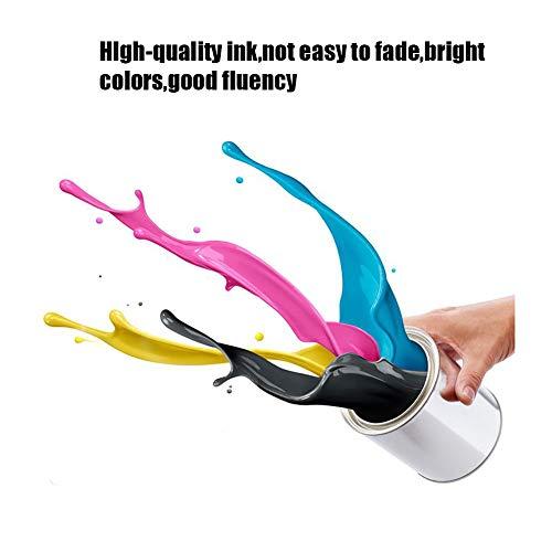 SSBY Cartuchos de Tinta remanufacturados de Repuesto para HP 664 664XL, para Impresora HP Deskjet Ink Advantage 1115 1118 2135 2136 2675 5075 5275 3635 3636 3638.-1Black+1Tri-Colour