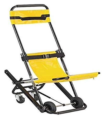 HNHN Tragbare Stair Chair Tragbahre, Faltbare Treppe Bahre Aufzug Treppen Stuhl mit Schnellverschlüssen for Ältere 1127