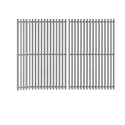 ZLjoint 19 1/4 in Cooking Grates for Jenn Air 720-0336, 720-0163, Uberhaus 720-0430 Gas Grills, Stainless Steel Grill Cooking Grids, 2 Pack