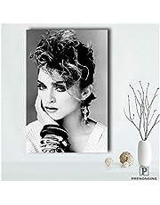Canvas Poster Madonna Beroemde Vrouwelijke Ster Poster Moderne Kunst Olieverf Slaapkamer Woonkamer Muurschildering Woondecoratie Muurschildering 50 * 70 Cm Geen Frame