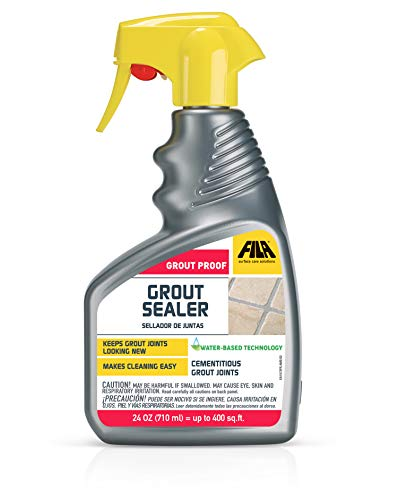 FILA Grout Sealer Spray Filagrout Proof 24 OZ, Grout Sealer for Tile and Stone, Eco-friendly