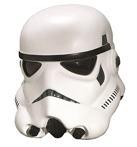 Star Wars - Casco de Stormtrooper Deluxe completo, color blanco - Tall