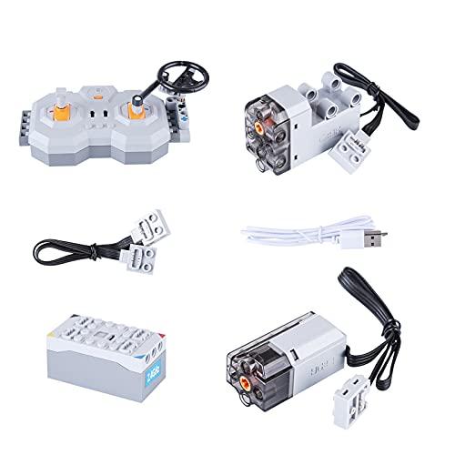 Bulokeliner Technic Power Functions - Mando a distancia para servomotor CADA C61081, compatible con Lego Technic
