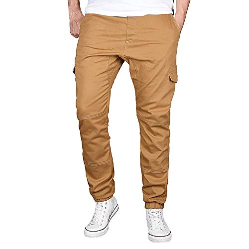 Herren Hosen Chino Cargo Hose Slim Fit Sporthose Stretch Jogger Freizeithose Stretch Designer Stoff Hose Chinohose Regular Fit