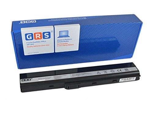 GRS Batterie pour ASUS A52J K52JF K52JK K42F K52JE A52JB K42JR A52 K42JV remplacé: A32-K52 A31-K52 A41-K52 A42-K52 A31-B53 K52L681 Laptop Batterie 4400mAh, 10.8V