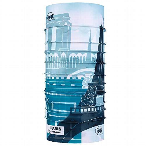 Buff (バフ) 豊富な色・柄 スペイン製 オールシーズンOK 使い方10通り以上 マルチな万能ヘッドウェア 軽量コンパクト 抗菌対応 汗をかいても匂わない 縫い目なし 吸汗速乾 フリーサイズ (ORIGINAL CITY パリ) [並行輸入品]