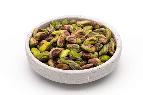 Pistachos crudos orgánicos 200g BIO nueces, pelados y descascarillados con piel. granos sin tostar y sin sal, fuente natural de melatonina