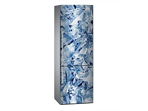 Oedim Vinilo para Frigorífico Hielo 200x70cm | Adhesivo Resistente y Económico | Pegatina Adhesiva Decorativa de Diseño Elegante