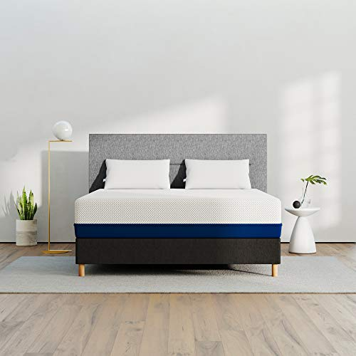 AMERISLEEP AS4 Memory Foam Mattress - Twin XL (Medium Soft) - Bed in a Box | Celliant Cover | Bio-Pur Plant Based Material | Cooler Than Memory Foam | USA