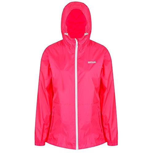 Regatta Women Wmn Pk It JKT III Outdoors Summer Jacket, Neon Pink, XX-Large