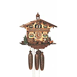 13 Musical Chalet Cuckoo Clock with Beer Drinkers