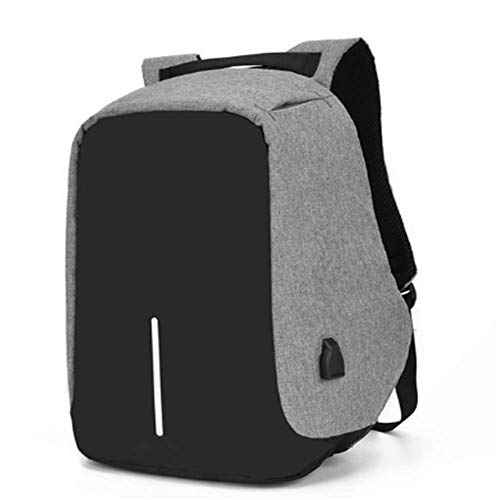 KNDJSPR Travel Laptop Backpack, Anti-Theft Bag with USB Charging Port and Lock Casual Hiking Daypack Water Resistant 15.6 Inch