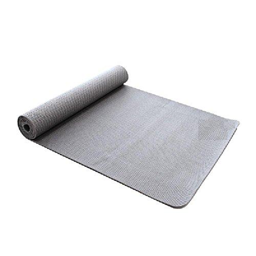 Senior-tipo 4mm sottile tappetini antiscivolo Yoga fitness stuoia tappetino esercizio verde