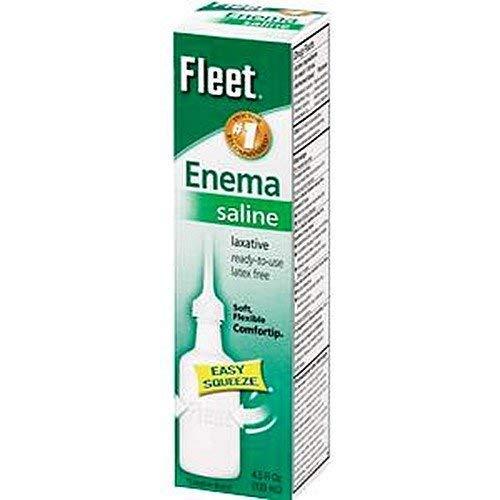 Fleet Enema, Adult-Packaging 4.5 fl oz Squeeze Bottle - Case of 48
