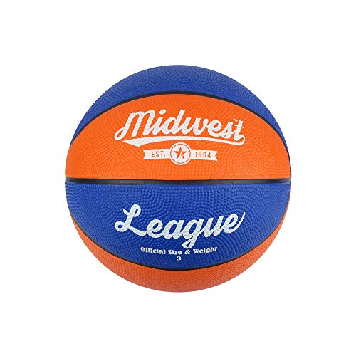 Midwest Kinder League Basketball, Kinder, League Basketball, blau/orange