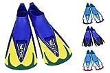 SEAC Team, Pinna Corte per Nuoto in Piscina e Snorkeling Unisex Adulto, Verde, 38/39 EU